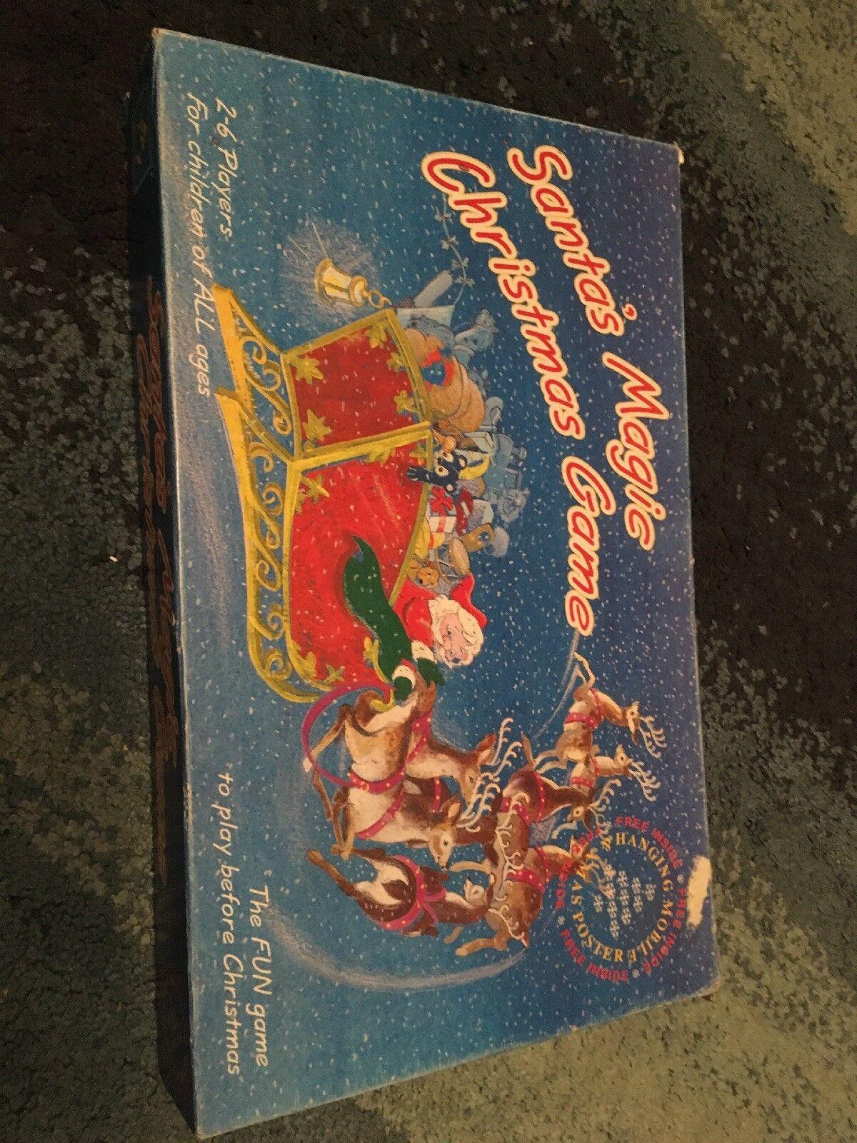Santa's Magic Christmas Board Game