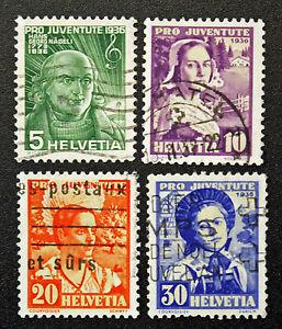 Stamp-Switzerland-Yvert-and-Tellier-N-298-IN-301-B-Obl-Cyn16