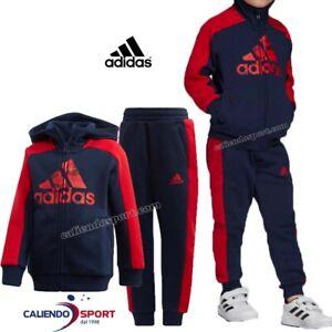 pantaloni adidas bambino rosso