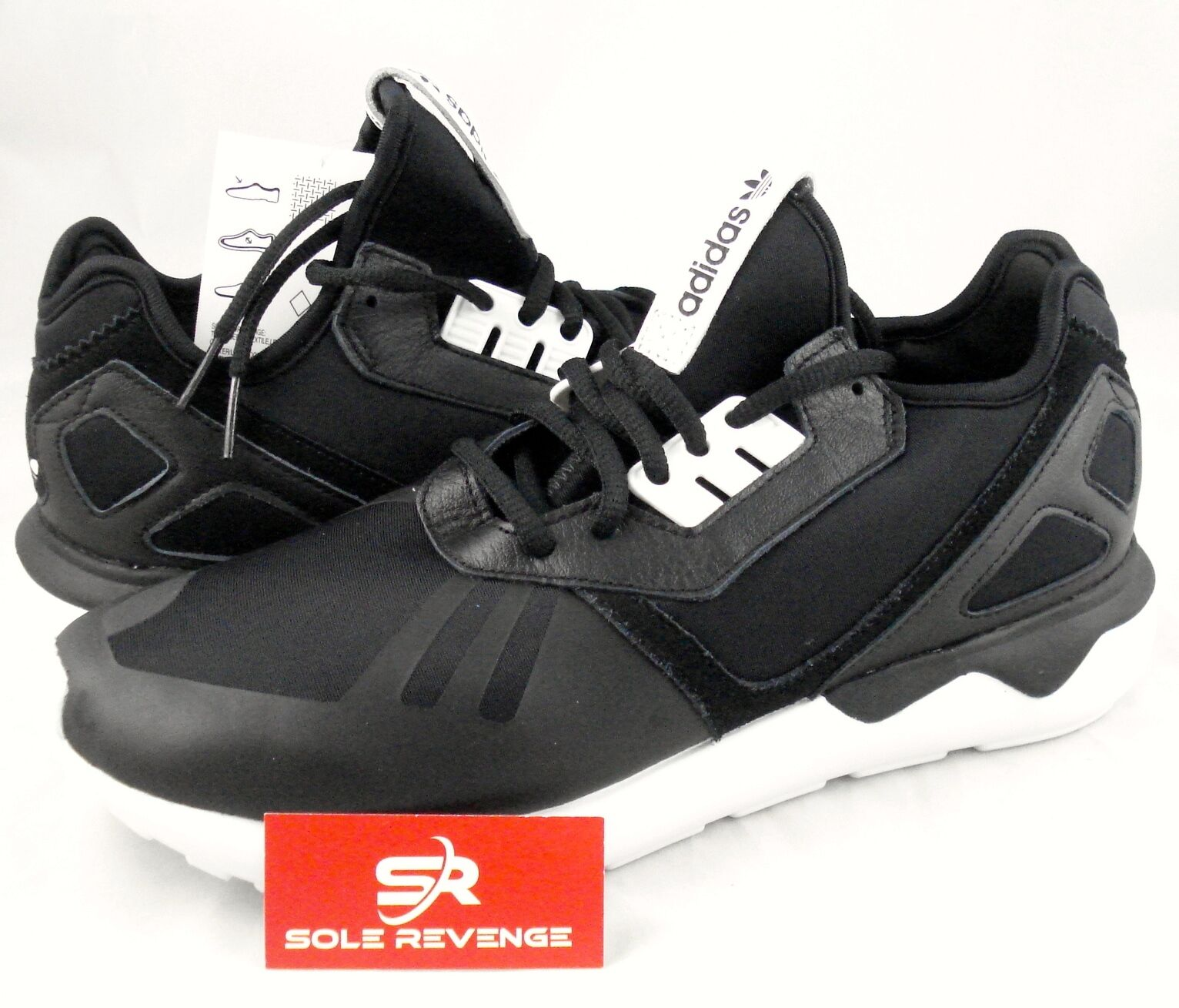 New adidas Originals Homme TUBULAR Runner Chaussures Noir Blanc B41272 flux loop c10