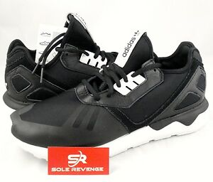 uk availability 24702 40b3a Image is loading New-adidas-Originals-Mens-TUBULAR-Runner-Shoes-Black-