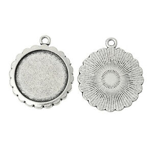 5 pcs  Antique silver round Cabochon Resin base setting 20mm internal - <span itemprop='availableAtOrFrom'>Bromley, Kent, United Kingdom</span> - Returns accepted Most purchases from business sellers are protected by the Consumer Contract Regulations 2013 which give you the right to cancel the purchase within 14 days after th - <span itemprop='availableAtOrFrom'>Bromley, Kent, United Kingdom</span>