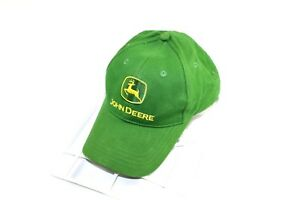3353564ab15ae Image is loading JOHN-DEERE-Adjustable-Casual-Outdoor-Classic-Logo-Cotton-