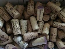 Lot of 100 Used Wine Corks Red White Wine Cork - No Plastic - No Champagne