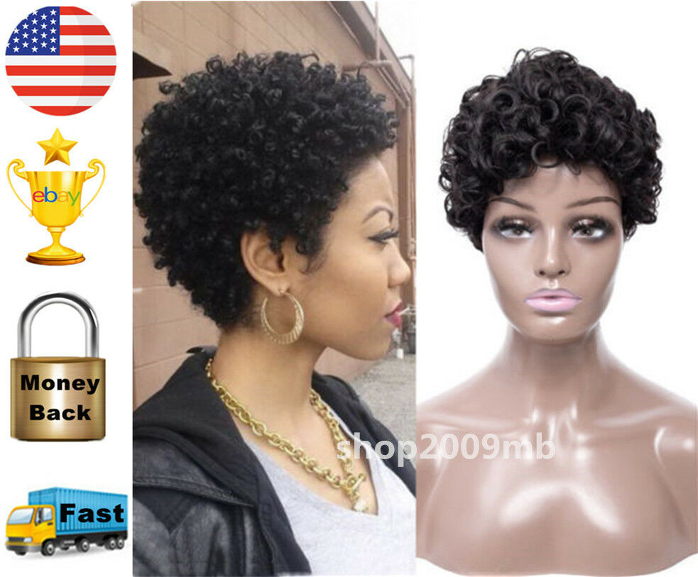 African Afro Wig for Black Women Kinky Curly