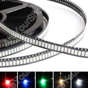 5730-LED-SMD-SMT-Rojo-Verde-Azul-Blanco-Calido-Blanco-5Color-Lampara-Emitting