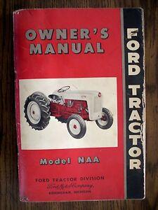 ford naa series owners manual ebay rh ebay com ford naa owners manual pdf ford naa parts manual