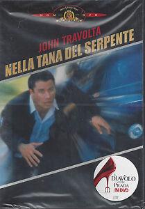 Dvd-NELLA-TANA-DEL-SERPENTE-con-John-Travolta-nuovo-1990