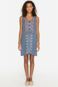 Johnny-Was-JWLA-Sonoma-Side-Button-Tunic-Dress-Embroidered-New-Boho-Chic-J31918