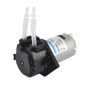 12V-Peristaltique-Pompe-Pompage-Dosing-Liquid-Miniature-AquariumLaboratoire