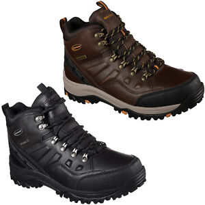 Skechers Relaxed Fit: Relment Travenneue Stiefel Herren