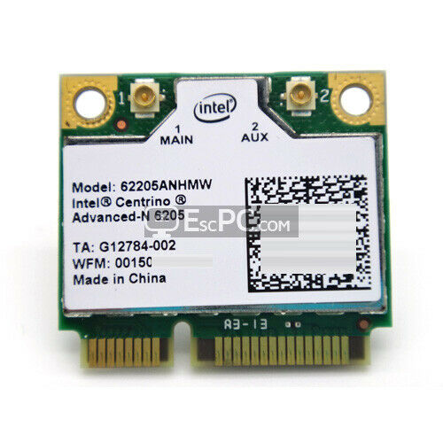 Brand New Intel 6205 62205ANHMWG WIFI Advanced-N WIFI WLAN Half MINI CARD L@@K!