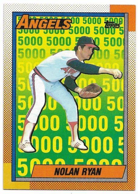 1990 Topps Nolan Ryan 3 Baseball Card