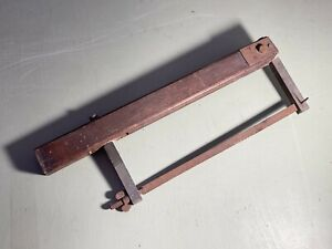 Vintage Wooden Hand Saw Tool - Interesting Collectable <A18