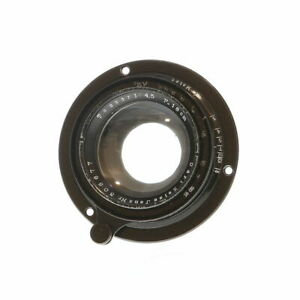 Vintage-Carl-Zeiss-Jena-18cm-f-4-5-Tessar-034-A-034-Mount-Barrel-Lens-A-VI2-UG