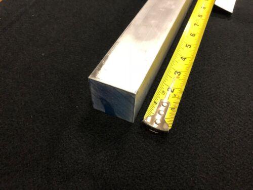 "1-5//8/"" square ALUMINUM  ROD//BAR  6061 12.00/"" long   Lathe or milling Stock"