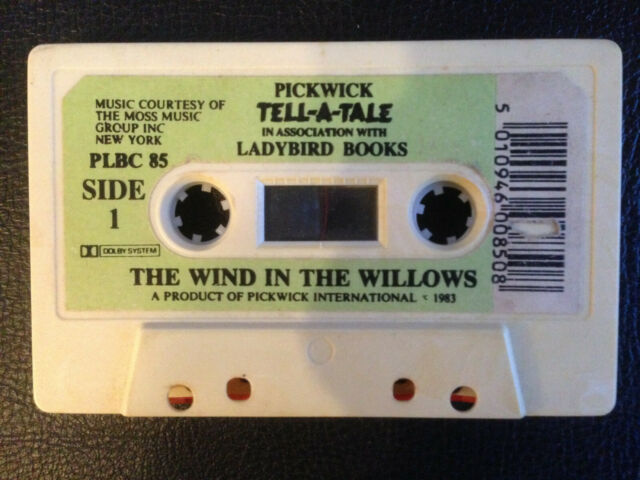 The Wind In The Willows 1983 Pickwick Tell-a-Tale Audio Cassette Tape