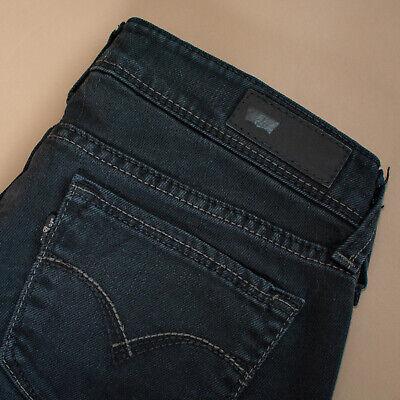 Vintage Levi Demi Curva Jeans Skinny Nero Alla Caviglia Donna (patchw 27) W 28 L 25-mostra Il Titolo Originale Sapore Puro E Delicato