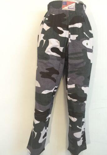 Homme Baggy Camouflage Yoga Pantalon élastique Gym Camouflage Coton Pantalon Combat