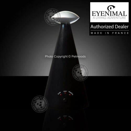Eyenimal Interactive Automatic Laser 3-Speeds Red Light Pointer 360 Cat Pet Toy