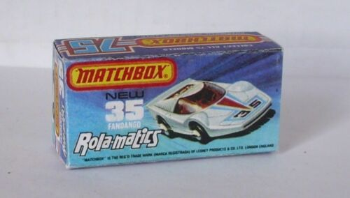 Repro box Matchbox Superfast nº 35 fandango