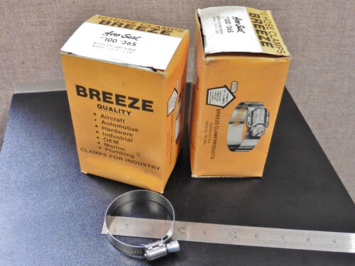 ; BREEZE #36 Box of 10 USA Stainless Steel Hose Clamp;1-13//16-2-3//4 70MM