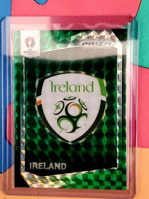 2016 Panini Prizm UEFA Euro Soccer SSP Green Ireland Country Logos Emblem #1/5