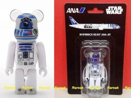 Medicom 2016 Be@rbrick ANA Jet x R2D2 Star Wars 100% R2-D2 bearbrick 1pc