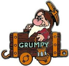 GRUMPY MINE TRAIN 100 YEARS Of DREAMS Snow White & THE 7 DWARFS Disney PIN