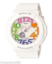 Casio Baby-G * BGA131-7B3 Neon Illuminator Colored Dial White MOM17 COD PayPal