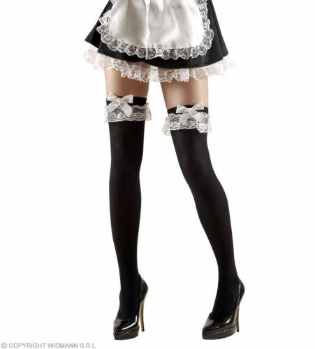 XL French Maid coscia alti 70 DEN-Costume