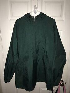 Half Green rompevientos Sweater Xl Nike para Chaqueta hombre Vintage Black zip XgTxOxw