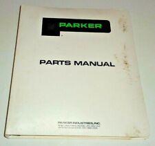 Parker Grain Buggieswagon Gear Auger Gravity Beds Master Parts Catalog Manual