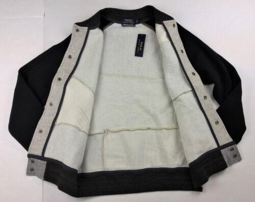 Polo Ralph Lauren Men Stadium Patchwork Letterman Varsity Rugby Baseball Jacket
