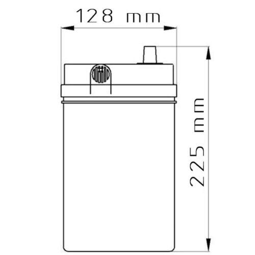 Autobatterie 12V 45Ah 360A//EN Fiamm Titanium Black B24J45 Starterbatterie PKW