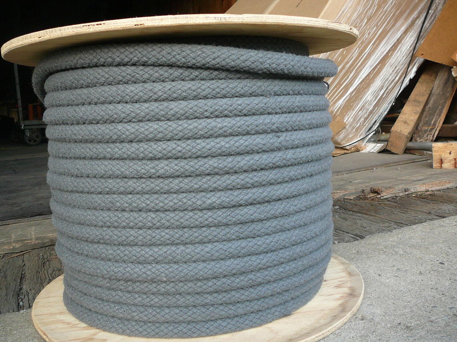 Gigante Ez Grip Trenzado Ranch Cuerda de 5 8 de pulgada X 100' Caballo línea Negro