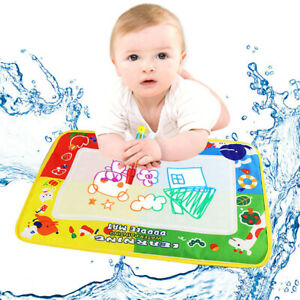 4-Color-Water-Drawing-Painting-Mat-Board-amp-Magic-Pen-Doodle-Kids-Toy-Gift-46X30cm