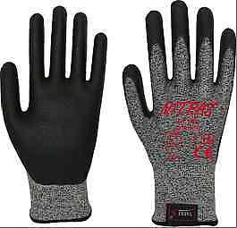 Protección de corte guantes corte firmemente trabajo mano zapato kl.3 talla XL
