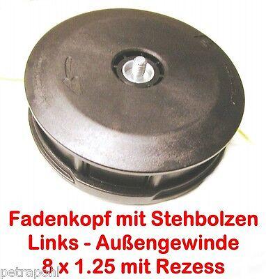Freischneider Fadenkopf Efco Oleo-Mac Tap/&Go Evo 2,4mm 8x1,25 LA und 10x1,25 Li.