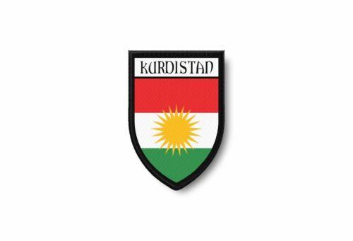 Patch ecusson termocollant bord brode drapeau imprime kurdistan kurdes