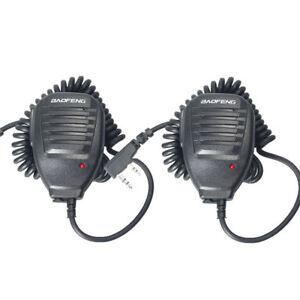 2PCS-Baofeng-Microphone-PTT-Speaker-Mic-For-Kenwood-BAOFENG-UV-5R-5R-5RE-5RA-B6