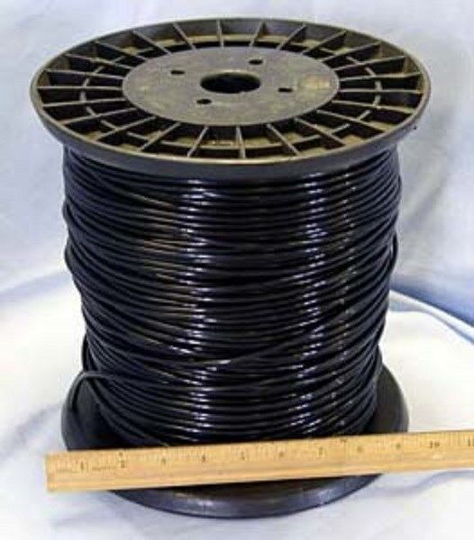 500 ft Nylon Monofilamento Negro 8 calibre alambre de cable