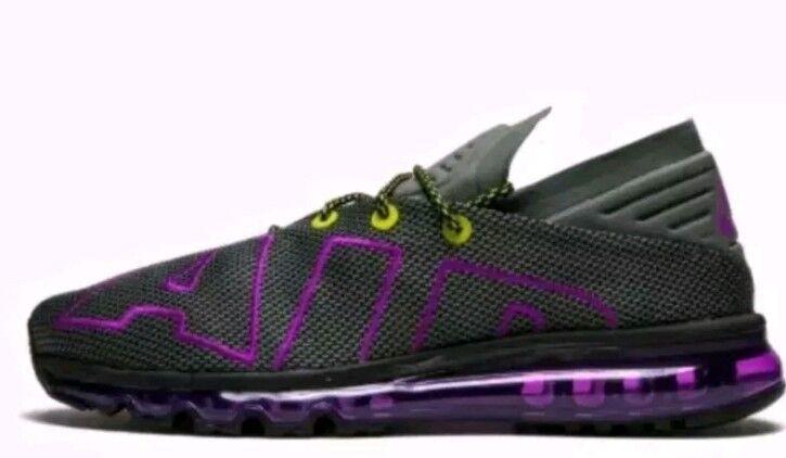save off a26a4 49fa4 ... NIKE AIR MAX Flair SU Up Tempo Running Running Running Gray Hyper  violet Volt AH9711- ...