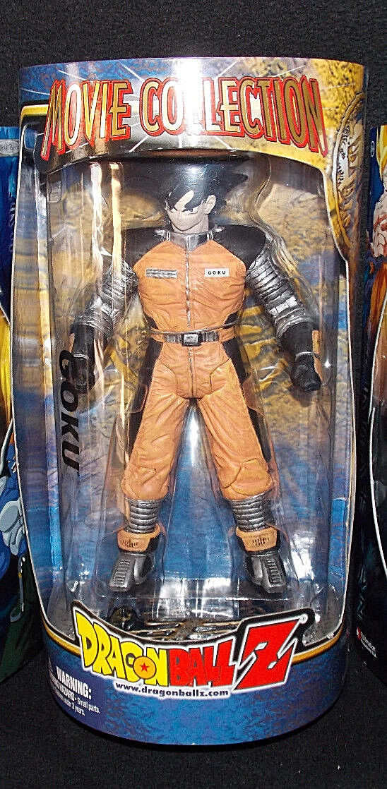 DRAGONBALL Z_Movie Collection Series__Space Suit GOKU 9 inch figure_New_Unopened
