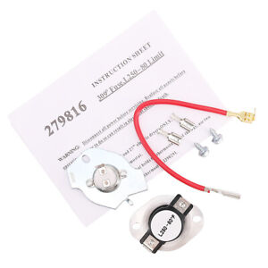 279816-Dryer-Thermostat-Kit-Replacement-for-Whirlpool-amp-Kenmore-Dryer
