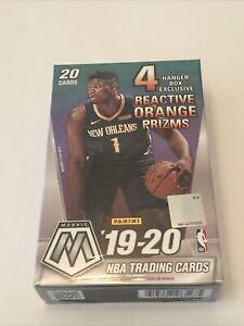 2019-20-Panini-Mosaic-Basketball-Reactive-Orange-Hanger-Box-SEALED-IN-HAND