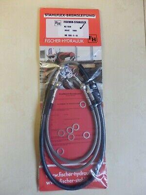 NX 650 Dominator RD02 STAHLFLEX vorne /& hinten ABE NEU NX650 NISSIN brake hose