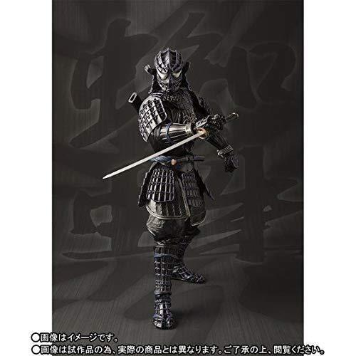 MEISHO MANGA REALIZATION Marvel ONMITSU schwarz ARMOR SPIDER-MAN Figure w Tracking