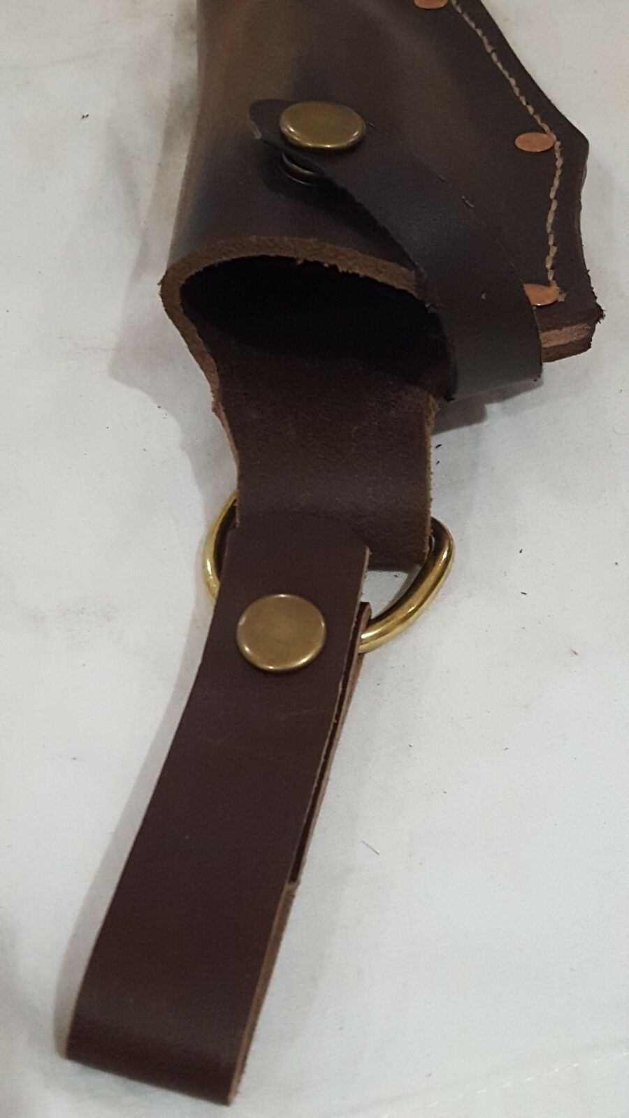 Handmade Quality ESEE 5 Knife Sheath made with with with 3mm Leather + Dangler Bushcraft 514c1a