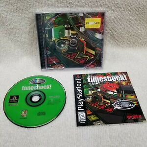 Timeshock-Pro-Pinball-PS1-Sony-Playstation-1-Complete-Tested-Working-FREE-SHIP
